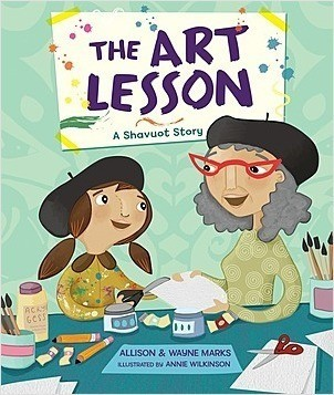 Cover: The Art Lesson: A Shavuot Story