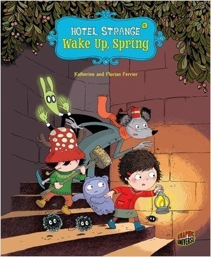 Cover: Hotel Strange — Library Bound Set