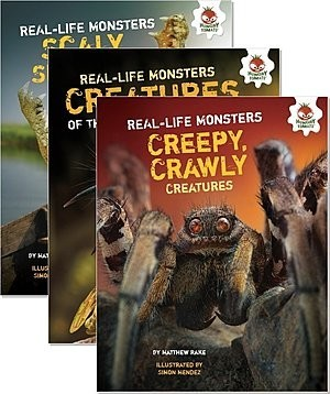Cover: Real-Life Monsters — Library Bound Set