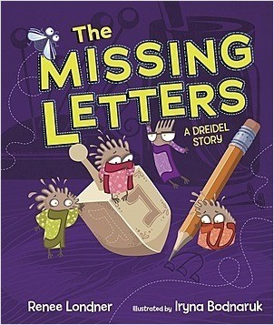 Cover: The Missing Letters: A Dreidel Story