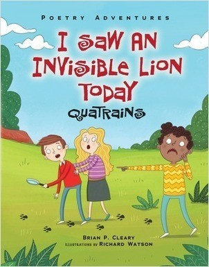 Cover: I Saw an Invisible Lion Today: Quatrains
