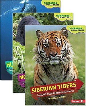 Cover: Comparing Animal Traits — Interactive Books Set