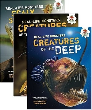 Cover: Real-Life Monsters — Paperback Set