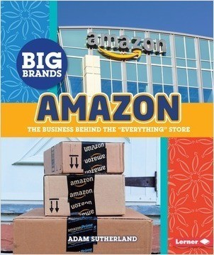 "Cover: Amazon: The Business behind the ""Everything"" Store"