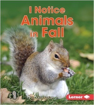 Cover: I Notice Animals in Fall