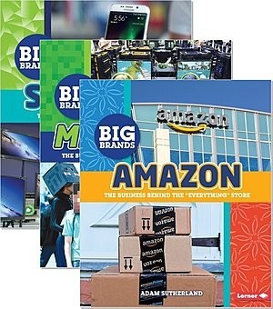 Cover: Big Brands — Library Bound Set