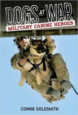 Cover: Dogs at War: Military Canine Heroes