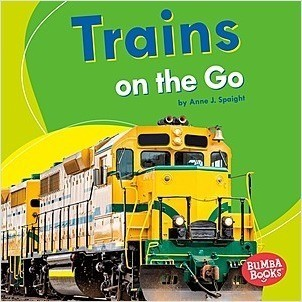 Cover: Trains on the Go