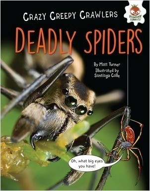 Cover: Deadly Spiders