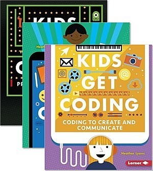 Cover: Kids Get Coding — Hardcover Set