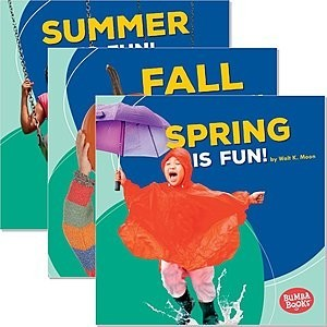 Cover: Bumba Books ™ — Season Fun — Interactive Books Set
