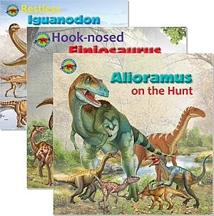Cover: When Dinosaurs Ruled the Earth — Library Bound Set