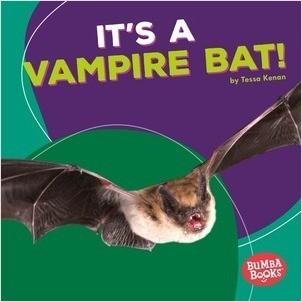 Cover: It's a Vampire Bat!