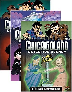 Cover: Chicagoland Detective Agency — Audisee®—Fluent Set