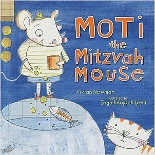 Cover: Moti the Mitzvah Mouse