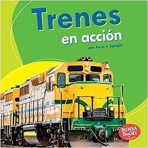 Cover: Trenes en acción (Trains on the Go)