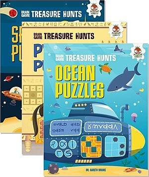 Cover: Brain Game Treasure Hunts — eBook Set