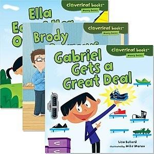 Cover: Cloverleaf Books ™ — Money Basics — eBook Set