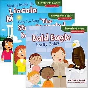 Cover: Cloverleaf Books ™ — Our American Symbols — eBook Set
