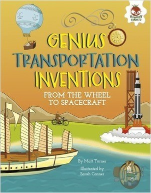 Cover: Genius Transportation Inventions: From the Wheel to Spacecraft