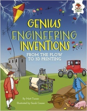 Cover: Genius Engineering Inventions: From the Plow to 3D Printing