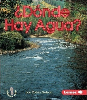 Cover: ¿Dónde hay agua? (Where is water?)