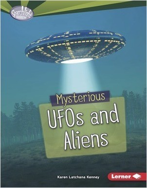 Cover: Mysterious UFOs and Aliens