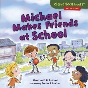 Cover: Cloverleaf Books ™ — Off to School — Paperback Set