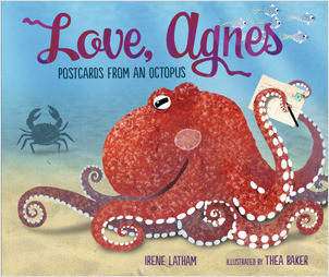 Cover: Love, Agnes: Postcards from an Octopus