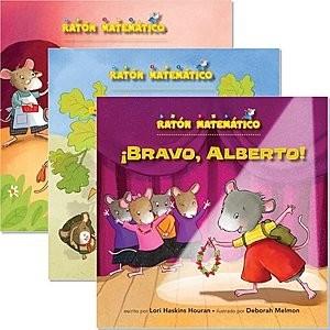 Cover: Ratón Matemático (Mouse Math ®) — Paperback Set