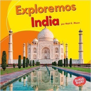 Cover: Exploremos India (Let's Explore India)