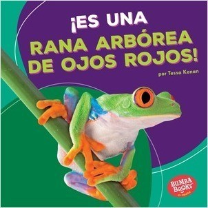 Cover: ¡Es una rana arbórea de ojos rojos! (It's a Red-Eyed Tree Frog!)