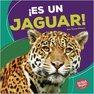 Cover: ¡Es un jaguar! (It's a Jaguar!)