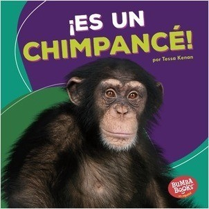 Cover: ¡Es un chimpancé! (It's a Chimpanzee!)