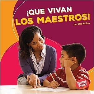 Cover: ¡Que vivan los maestros! (Hooray for Teachers!)