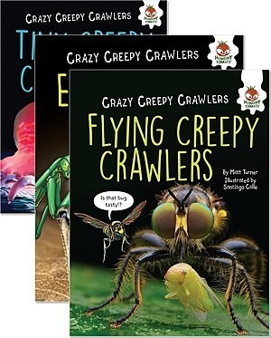 Cover: Crazy Creepy Crawlers — Hardcover Set