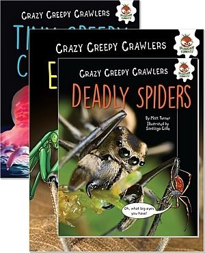 Cover: Crazy Creepy Crawlers — Paperback Set