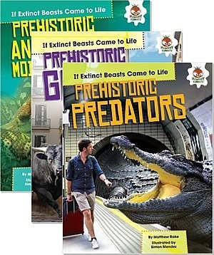 Cover: If Extinct Beasts Came to Life — Paperback Set