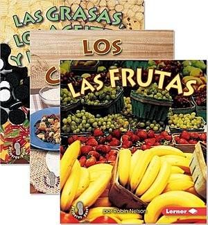 Cover: Mi primer paso al mundo real — Los grupos de alimentos (First Step Nonfiction — Food Groups) — eBook Set