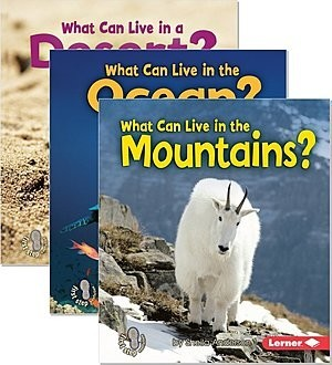 Cover: First Step Nonfiction — Animal Adaptations — eBook Set