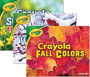 Cover: Crayola ® Seasons — Interactive Books Set