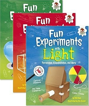 Cover: Amazing Science Experiments — Library Bound Set