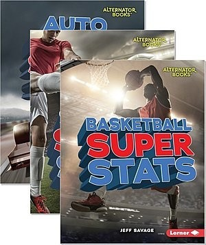 Cover: Pro Sports Stats (Alternator Books ™) — Library Bound Set