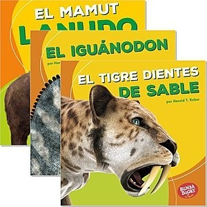 Cover: Bumba Books ™ en español — Dinosaurios y bestias prehistóricas (Dinosaurs and Prehistoric Beasts) — eBook Set