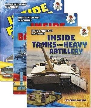 Cover: Inside Military Machines — eBook Set
