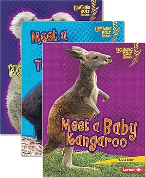 Cover: Lightning Bolt Books ™ — Baby Australian Animals — Paperback Set