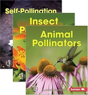 Cover: First Step Nonfiction — Pollination — Audisee®—On Level Set