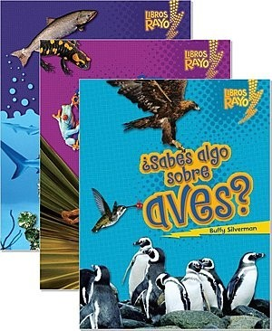Cover: Libros Rayo — Conoce los grupos de animales (Lightning Bolt Books ™ — Meet the Animal Groups) — Audisee®—On Level Set