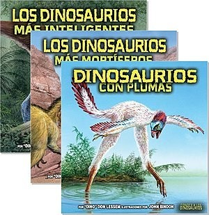 Cover: Conoce a los dinosaurios (Meet the Dinosaurs) — eBook Set