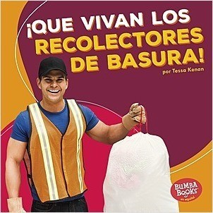 Cover: Bumba Books ™ en español — ¡Que vivan los ayudantes comunitarios! (Hooray for Community Helpers!) — Library Bound Set